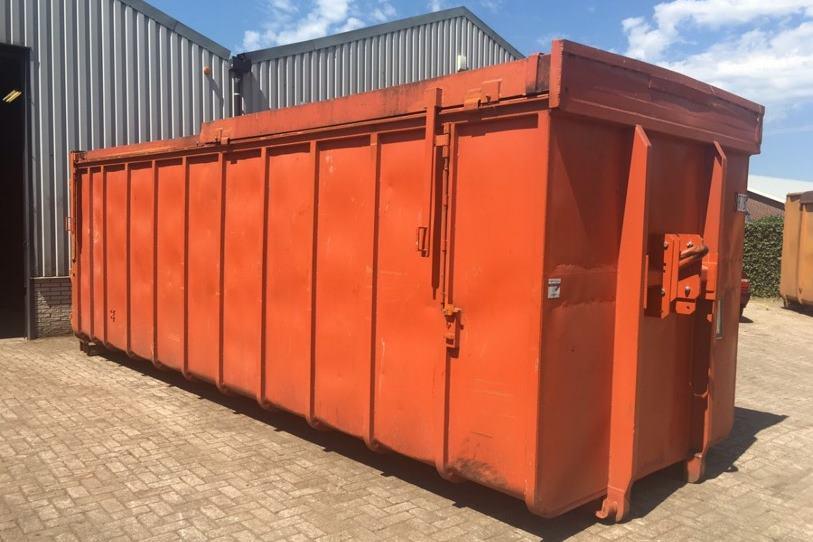 Afsluitbare container Reststromen installatie
