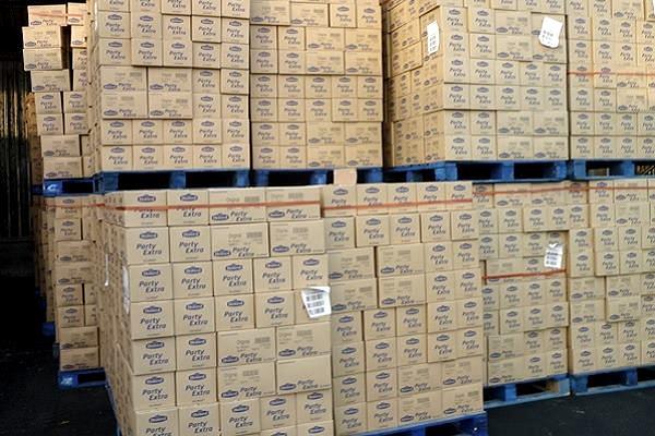 Inzameling bakkerijproducten consumentenverpakking