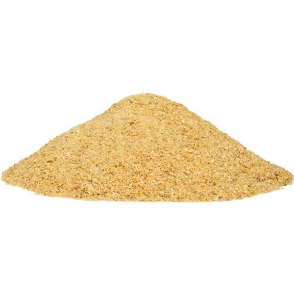 Full fat processed corn